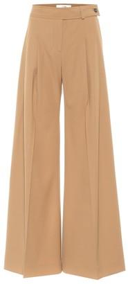 Victoria Victoria Beckham Wool gabardine wide-leg pants