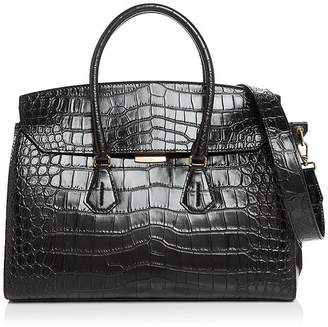Bally Saphyr Croc-Embossed Tote