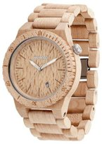WeWood Beta Beige Wooden Watch