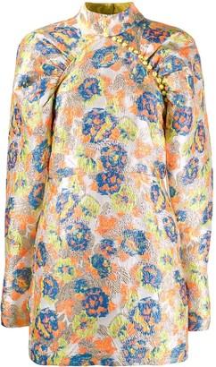 Rotate by Birger Christensen Kim jacquard dress