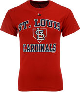 Majestic Men's St. Louis Cardinals Hit and Run T-Shirt