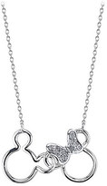 Disney Mouse Icon Diamond Necklace