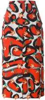Marco De Vincenzo printed midi skirt - women - Polyester - 40