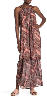 NSR Gwen Printed Maxi Dress