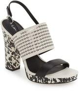 Calvin Klein 'Breannie' Slingback Platform Sandal (Women)