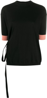 Marni Side-Tie Knitted Top