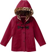 Urban Republic Girls 4-6x Midweight Heart Toggle Coat