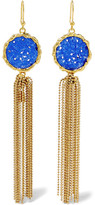 Rosantica Acquerello Gold-tone Agate Earrings - one size