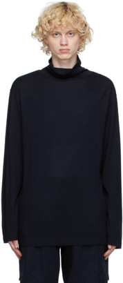 ts(s) tss Navy Wool Turtleneck