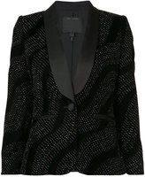 Marc Jacobs crystal wave blazer - women - Acetate/Nylon/Silk - 8