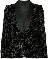 Marc Jacobs crystal wave blazer - women - Silk/Nylon/Acetate - 6