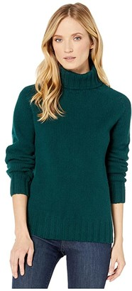 Filson Lambswool Turtleneck (Heather Taupe) Women's Clothing