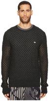 Vivienne Westwood Fern Knit Crew Neck Sweater Men's Sweater