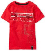 DKNY Boys 4-7) Bay City Trekkers Tee