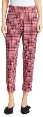 Rachel Comey Westside Check Crop Slim Leg Pants
