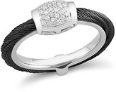 Alor Diamond Black Cable Ring