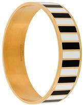 Givenchy monochrome striped bracelet