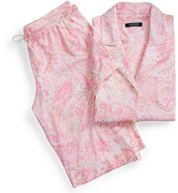 Ralph Lauren Cotton Bermuda Short Set