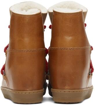 Isabel Marant Tan Nowles Boots