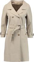 Michael Kors Crinkled cotton-blend trench coat