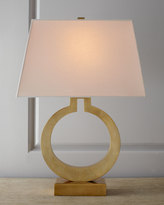 Horchow Visual Comfort Brass Ring Lamp