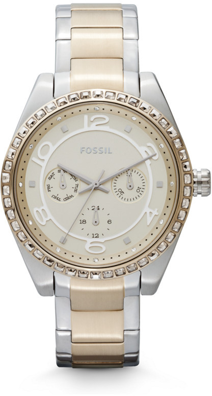 Fossil Carissa Multifunction Stainless Steel Watch - Two-Tone
