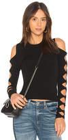 Autumn Cashmere Open Sleeve Sweater