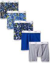 Hanes Toddler Boys 5-Pack Glow In The Dark Boxer Brief