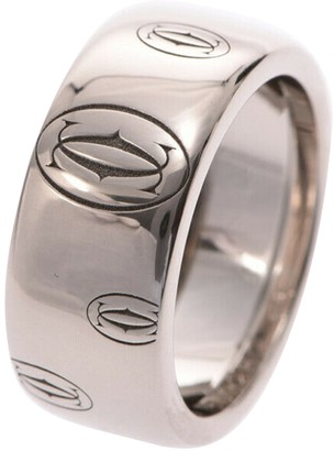 Cartier Silver White gold Rings