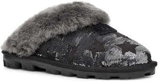 UGG Sequin Stars Genuine Shearling Slipper