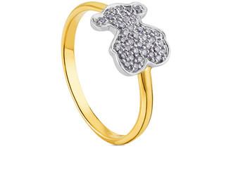 Tous Sweet Dolls 18K 0.18 Ct. Tw. Diamond Ring
