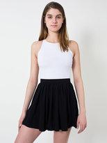 American Apparel Pique Full Woven Skirt