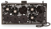 Sondra Roberts Embellished Lace Satin Convertible Clutch