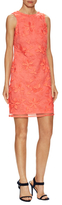 Donna Ricco Embroidered Floral Dress