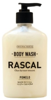 Rascal Pomelo Body Wash for Men, 13.5 oz