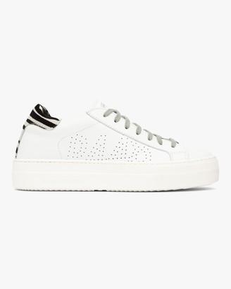 P448 Thea Zebra Low-Top Sneaker