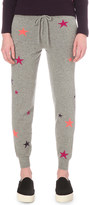 Chinti and Parker Star-print cashmere trousers