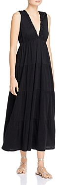 Dolan Tiered Ruffled Maxi Dress