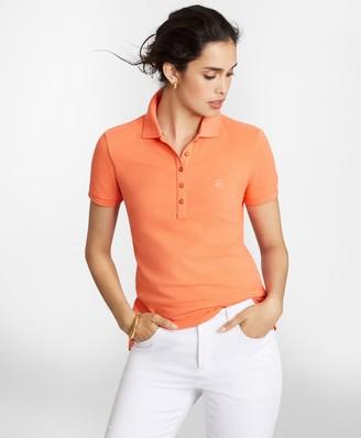Brooks Brothers Stretch Supima Cotton Pique Polo Shirt