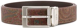 Etro Metallic Buckle Belt