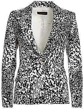 Escada Women's Bikenati Abstract Leopard Print Jacket