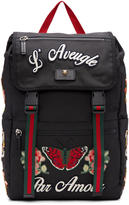 Gucci Black laveugle Par Amour Techpack Backpack