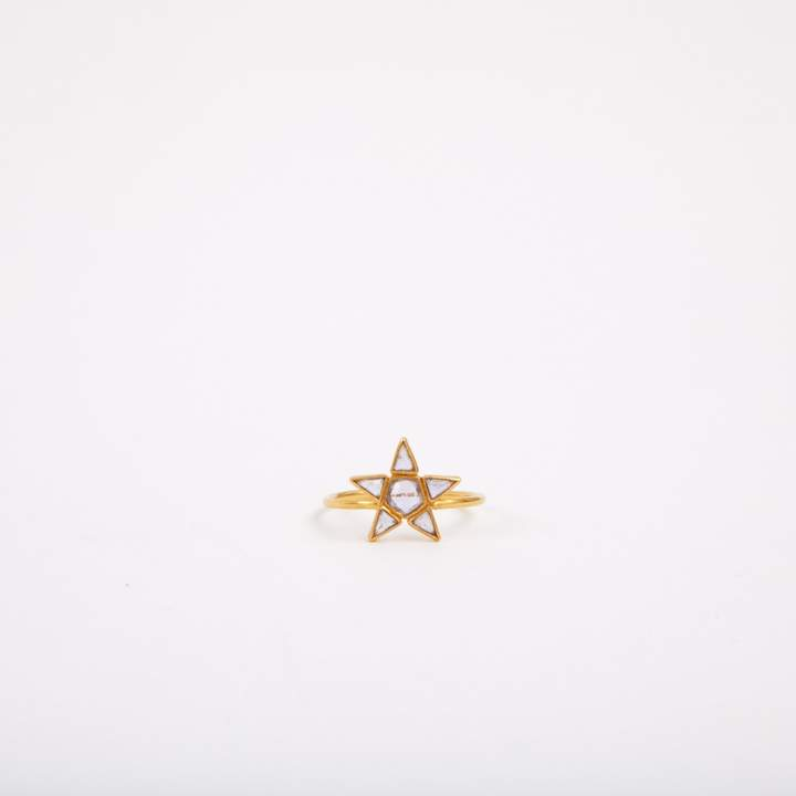 Marie Helene De Taillac Ring in pink gold
