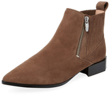 Sigerson Morrison Bambie Leather Pointed-Toe Bootie