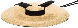 ELIURPI Pamela raffia hat