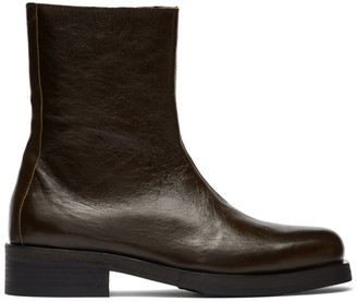 Our Legacy Brown Camion Boots