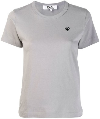 Comme des Garcons Heart embroidered T-shirt