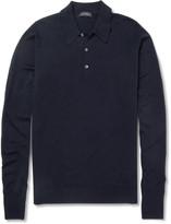 John Smedley - Cotswold Merino Wool Polo Shirt
