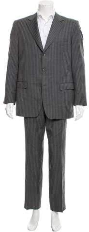 Gucci Three-Button Wool Suit