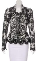Christian Dior Lace Bar Jacket